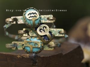 Wanderluster Zodiac Signs Cuffs