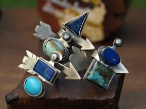 Wanderluster Dreams Arrow Rings
